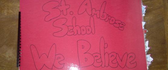 St. Ambrose School Believes
