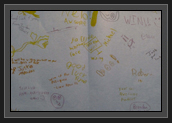 Image of Cards from Pisiquid Athletes in Support of Ryan and Hugues at Worlds