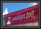 Image of 2011 Pan Am Games Sign in Gaudalajara, Mexico