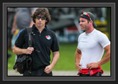 Image of Ryan and Fred Jobin After Race at World Cup 2 in Duisburg, Germany