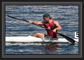 Image of Ryan During K1 200m Relay at World Cup 2 in Duisburg, Germany