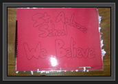 Image of Cover of Booklet from St. Ambrose School Kindergarten to Grade 5 Students in Calgary, Alberta