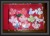 Image of Page of Booklet from Kindergarten Students from St. Ambrose School in Calgary, Alberta