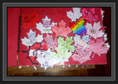 Image of Page of Booklet from Grade 4 Students from St. Ambrose School in Calgary, Alberta