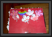Image of Back of Booklet Part of Grade 5 Student Pages from St. Ambrose School in Calgary, Alberta