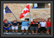 Image of Mini opening ceremonies held in France. Photo: Wave Physiotherapy