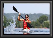Image of Ryan paddling in France before Olympics