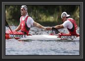 Image of Ryan and Hugues at London 2012 Olympic Games