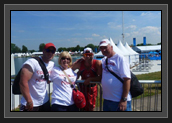 Image of Cochrane Family at Eton Dorney During the London 2012 Olympic Games