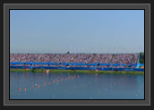 Image of Crowd at Eton Dorney Race Course at London 2012 Olympics