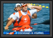 Image of Ryan Pumping Up The Crowd at K2 200m Final at London 2012 Olympic Games