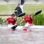 Ryan and Hugues in K2 200m (Photo: Balint Vekassy)