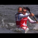 Ryan and Marc-Alexandre Gagnon in the K2 200m
