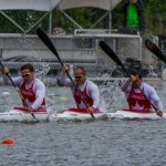 Ryan, Mark, Hugues and Etienne in K4 200m