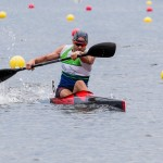 Ryan at National Championships 2015 in K1 200m