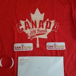 Package sent to Ryan from CanFund