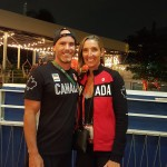 Ryan and Michelle Cameron Coulter at Canada House