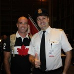 Ryan posing with Pilot in RIO