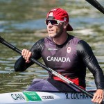Photo of Ryan in k2 200m at Olympics (Photo: Doris Corbin)